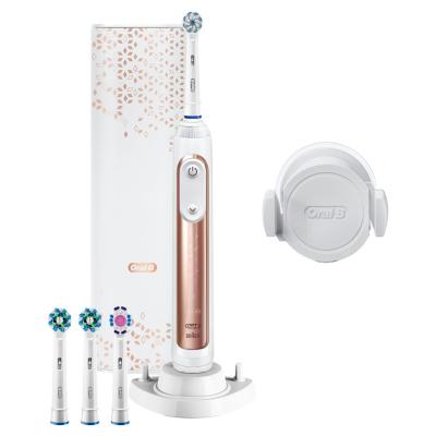 Oral-B  Genius 10100S Rosegold Elektrische Zahnbürste mit Bluetooth | 4210201203100