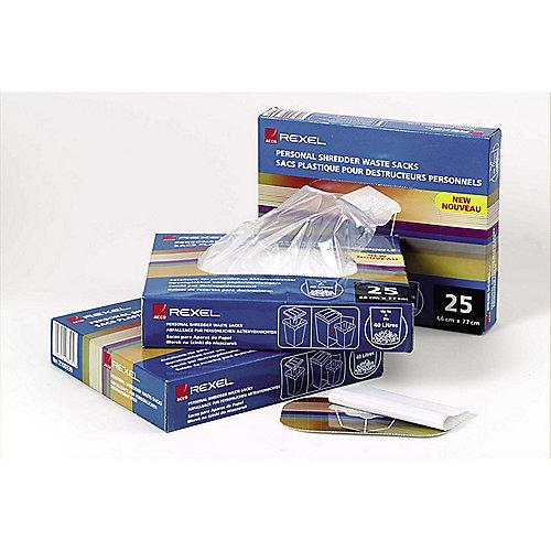 Rexel Plastikabfallsäcke 40L (100 Stück)