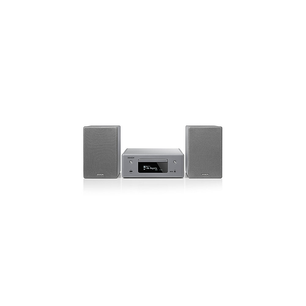 Denon CEOL N10 CD-Kompaktanlage HEOS Multiroom Bluetooth Airplay2 grau