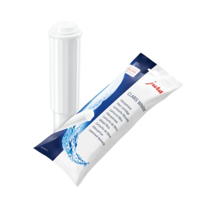 Jura  CLARIS White – Filterpatrone für IMPRESSA- und SUBITO-Linie, 1 Stk. | 7610917602094