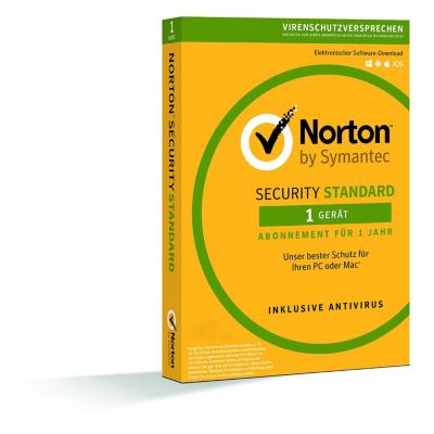 Symantec  Norton Security 3.0 1 Gerät Standard 1Jahr, CardCase | 5397039337760