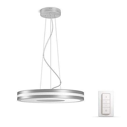 Philips Hue White Ambiance Being Pendelleuchte Silber inkl. Dimmschalter | 8718696168608