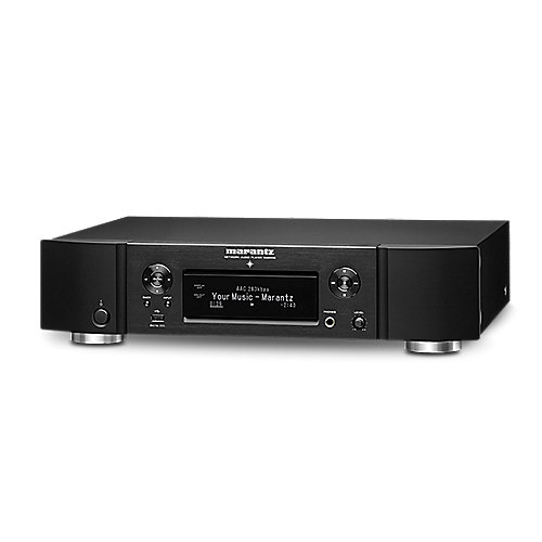 Marantz NA6006 Netzwerk-Player schwarz HEOS Internetradio Streaming Amazon Alexa