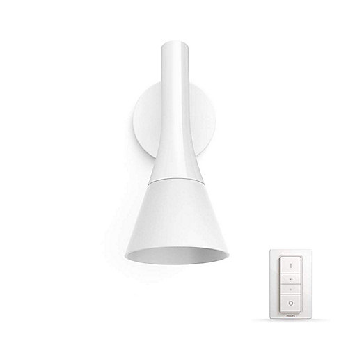 Philips Hue White Ambiance Explore Wandleuchte Weiß inkl. Dimmschalter | 8718696168851