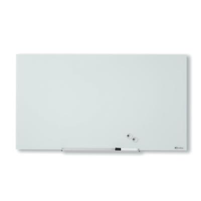 Nobo  Diamond Glas Whiteboard magnetische Glastafel (126 x 71 cm) | 5028252501972