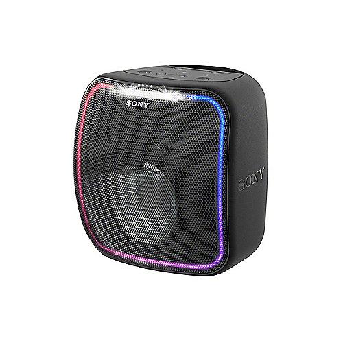 Sony SRS-XB501 Bluetooth Lautsprecher spritzwassergeschützt Lichteffekt schwarz | 4548736080423