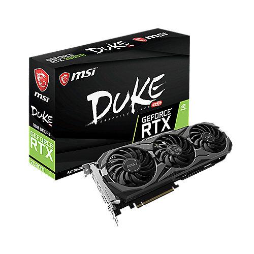 MSI GeForce RTX 2080Ti Duke 11GB GDDR6 Grafikkarte 3xDP/HDMI/USB (TypC) | 4719072596903