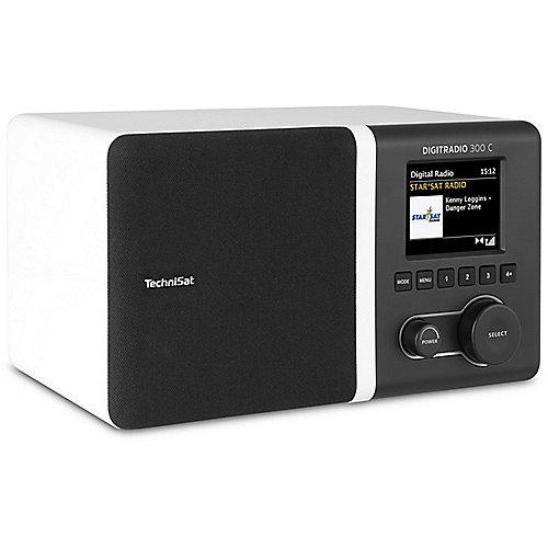 TechniSat DIGITRADIO 300 C DAB+/UKW Radio, weiß...