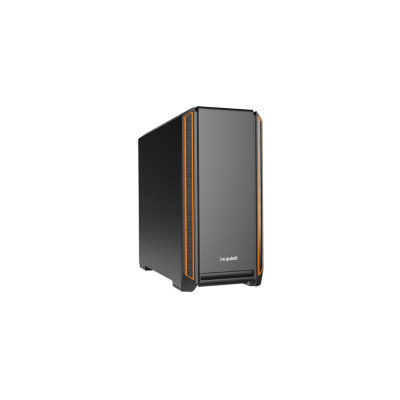 be quiet!  Silent Base 601 Orange Midi Tower Gaming Gehäuse, gedämmt | 4260052186992