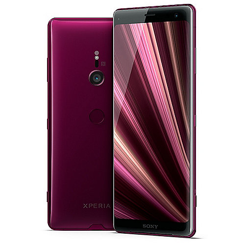 Sony Xperia XZ3 Dual-SIM bordeaux red Android 9...