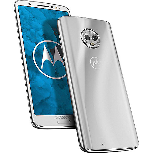 Motorola Moto G6 silver Android 8.0 Smartphone