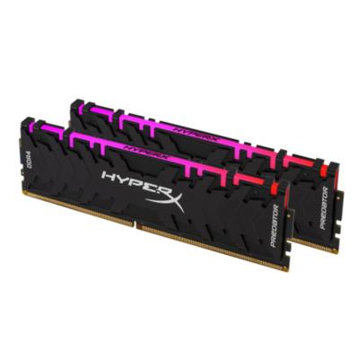 HyperX 16GB (2x8GB)  Predator RGB DDR4-3200 CL16 RAM Arbeitsspeicher | 0740617283877