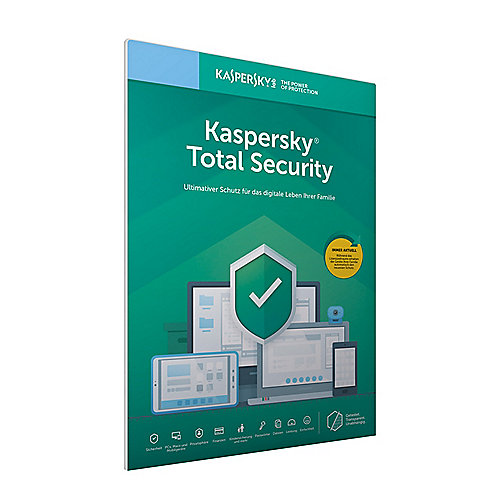 Kaspersky Total Security 2019 Multi-Device 3Geräte 1Jahr FFP