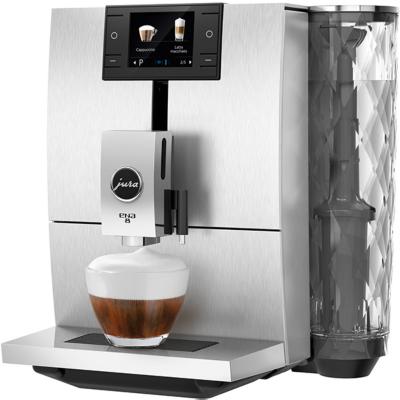 Jura  ENA 8 Signature Line Massive Aluminium Kaffeevollautomat | 7610917152223