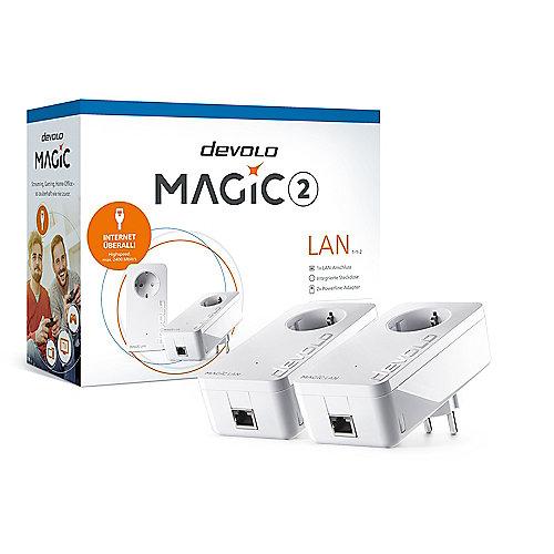 devolo Magic 1 LAN 1-1-2 Starter Kit 2x (1200mbps Powerline + 1xLAN) | 4250059682955