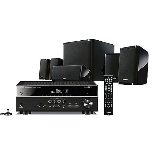 yamaha yht 4950 home cinema set schwarz 4k hdr bluetooth. Black Bedroom Furniture Sets. Home Design Ideas