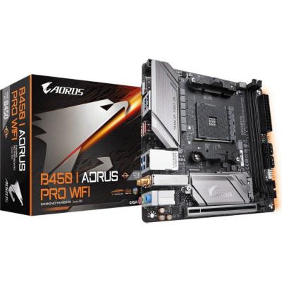 Gigabyte  B450 I AORUS PRO WIFI ITX Mainboard Sockel AM4 M.2/2xHDMI/DP/WLAN/BT | 4719331803988