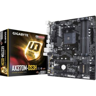 Gigabyte  GA-AX370M-DS3H mATX Mainboard Sockel AM4 GL/M.2/HDMI/DVI | 4719331802752