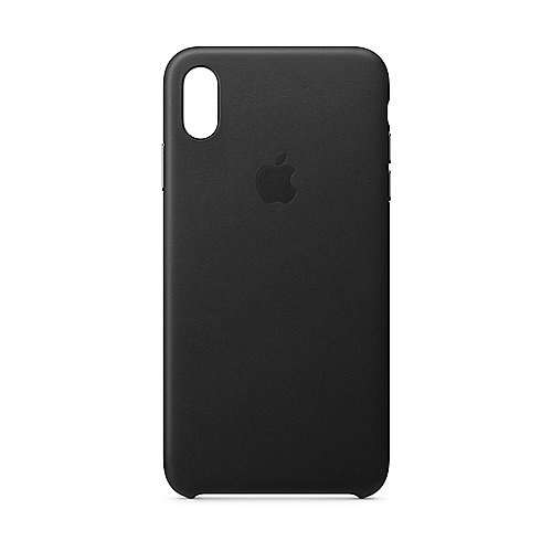 Apple Original iPhone XS Max Leder Case-Schwarz
