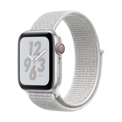 Apple Watch Nike LTE 40mm Aluminiumgehäuse Silber Sport Loop Summit White auf Rechnung bestellen