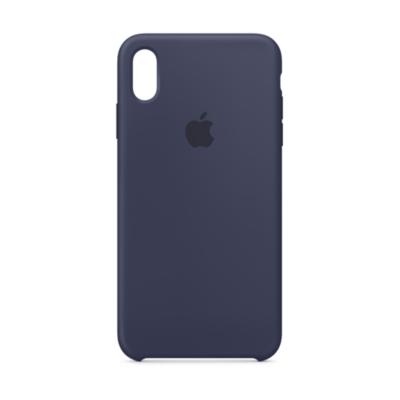 Apple  Original iPhone XS Max Silikon Case-Mitternachtsblau | 0190198763266
