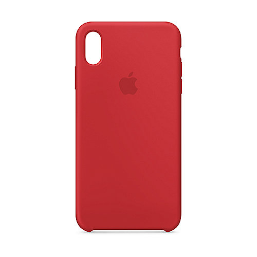 Apple Original iPhone XS Max Silikon Case-(PRODUCT)RED