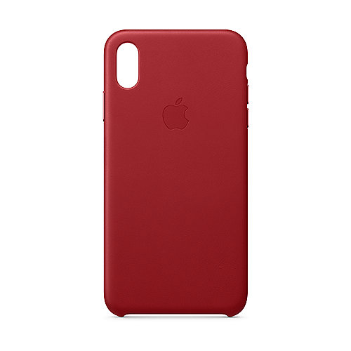 Apple Original iPhone XS Leder Case-(PRODUCT)RED