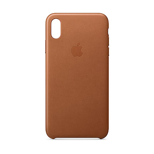 Apple Original iPhone XS Leder Case-Sattelbraun