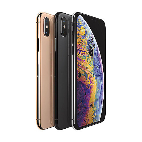 Apple iPhone XS 64 GB Silber MT9F2ZD/A