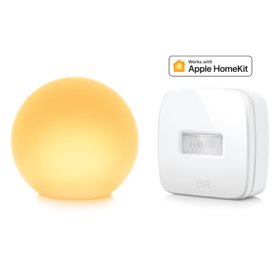 Elgato Apple HomeKit Beleuchtungs-Starter Paket mit Eve Motion and Eve Flare   4260195391376