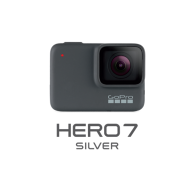 Gopro  Hero 7 Silver 4K-Action Cam wasserdicht Sprachsteuerung Touchscreen | 0818279023220