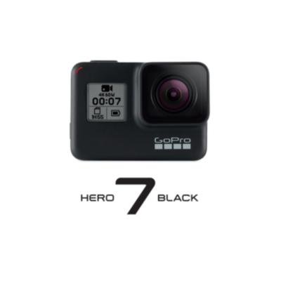 Gopro  Hero 7 Black 4K60-Action Cam wasserdicht Sprachsteuerung Touchscreen | 0818279023077