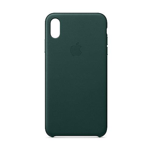 Original iPhone XS Max Leder Case-Waldgrün | 0190198802743