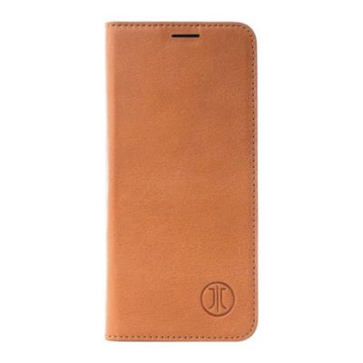 JT Berlin  BookCase Tegel für Apple iPhone Xs Max  Leder cognac   4260464223858