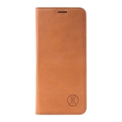 JT Berlin  BookCase Tegel für Apple iPhone Xs/X  Leder cognac   4260464222974