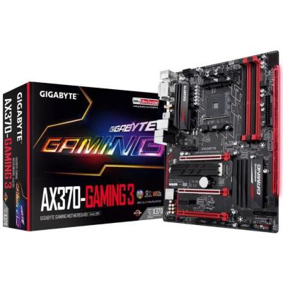 Gigabyte  GA-AX370-Gaming 3 ATX Mainboard Sockel AM4 GL/USB3.1/M.2/HDMI/DVI | 4719331802745