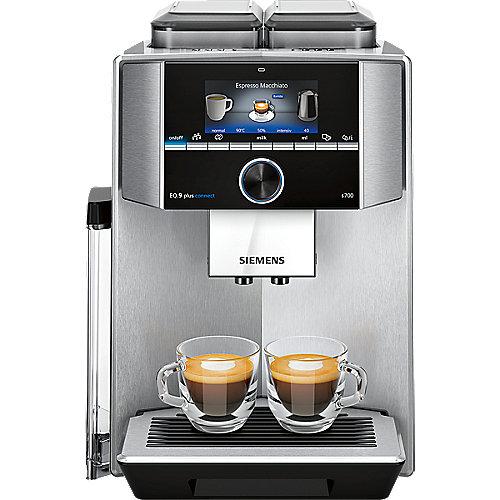 Siemens TI9575X1DE EQ.9 plus connect s700 Kaffeevollautomat Edelstahl | 4242003827888