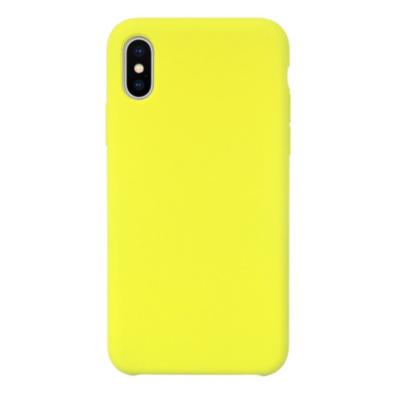 JT Berlin  Liquid SilikonCase Steglitz für Apple iPhone Xs Max gelb   4260464223674