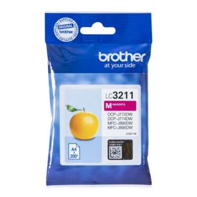 Brother  LC-3211M Original Druckerpatrone Magenta | 4977766775762
