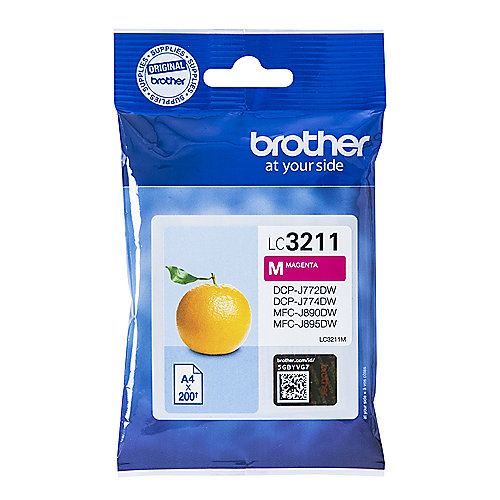 Brother LC-3211M Original Druckerpatrone Magenta