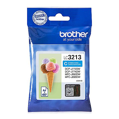 Brother LC-3213C Original Druckerpatrone Cyan | 4977766762267