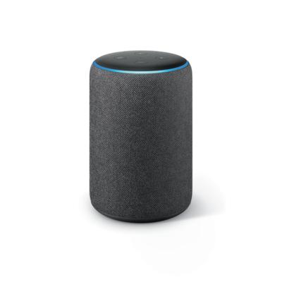 Amazon Echo Plus (2. Gen) mit Premiumklang und integriertem Smart Home-Hub – Anthrazit | 0841667179568