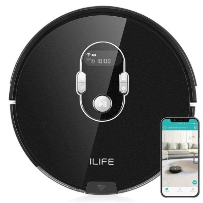 ILIFE  A7 Staubsauger-Roboter mit App-Steuerung (iOS/Android) schwarz   4260522140387