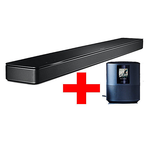 Bose Multiroom-Set Soundbar 500 + Bose Home-Speaker 500 - schwarz