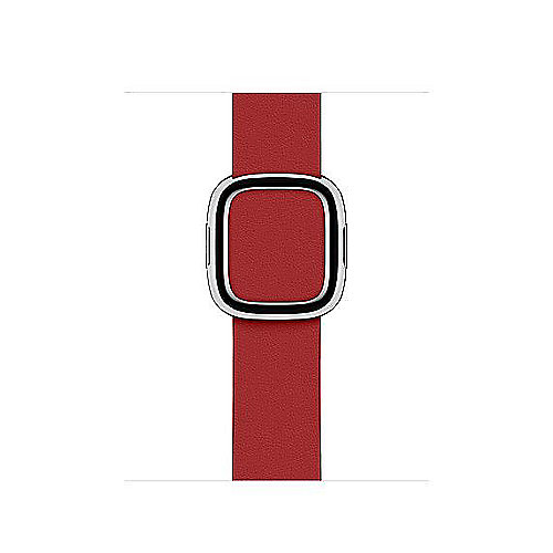 Apple Watch 40mm Modernes Lederarmband Rubinrot(PRODUCT)RED large
