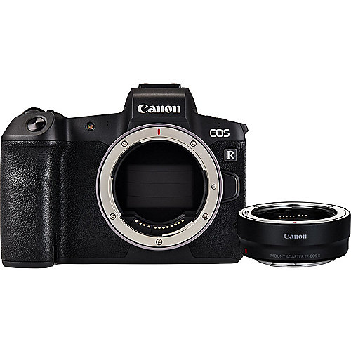 Canon EOS R Gehäuse + Bajonettadapter EF-EOS R | 4549292119978