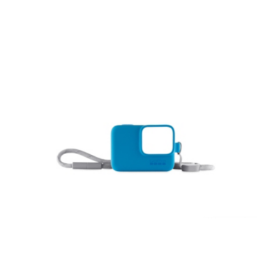 Gopro  Sleeve and Lanyard (Blue) (ACSST-003) | 0818279023121