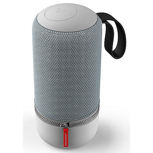 Libratone ZIPP Mini 2 Wireless Lautsprecher BT Airplay Multiroom Frosty Grey