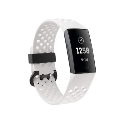 Fitbit  Charge 3 NFC Gesundheits- und Fitness-Tracker Special Edition weiß | 0811138031008