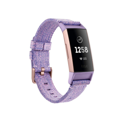 Fitbit  Charge 3 NFC Gesundheits- und Fitness-Tracker Special Edition lavendel | 0811138031046